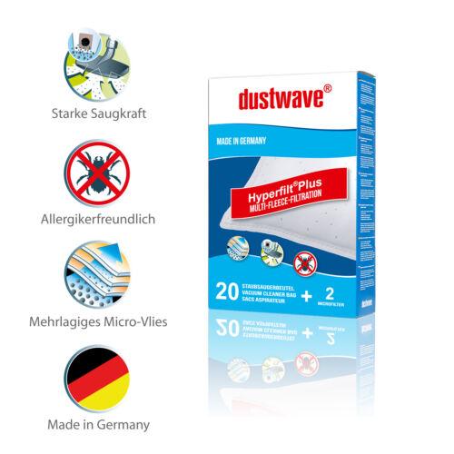 Megapack + Filter Staubsaugerbeutel Vlie geeignet für Flink und Sauber R 070