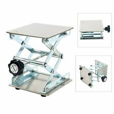 6 Stainless Steel Lab Stand Table Scissor Lift Laboratory Jiffy Stand Jack