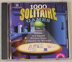 1000 Best Solitaire Games (PC, 2000) - European Version