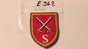 Bundeswehr Verbandsabzeichen S goldgelber Rand gewebt neu (e362-) - Helvesiek, Deutschland - Bundeswehr Verbandsabzeichen S goldgelber Rand gewebt neu (e362-) - Helvesiek, Deutschland