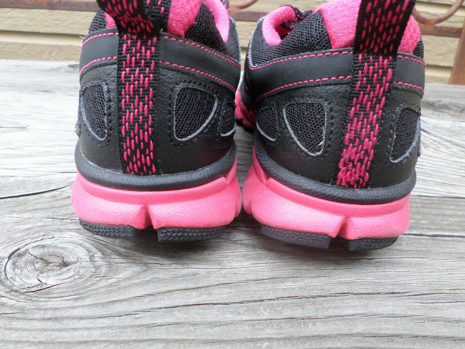 Nike Nike Nike  flex  tracce  nero e scarpe rosa caldo della formazione delle donne 9 | Elegante e solenne  | Sig/Sig Ra Scarpa  6b1894