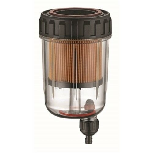 Boat marine Qwick View Filter Assembly with Drain No Head 10 Micron