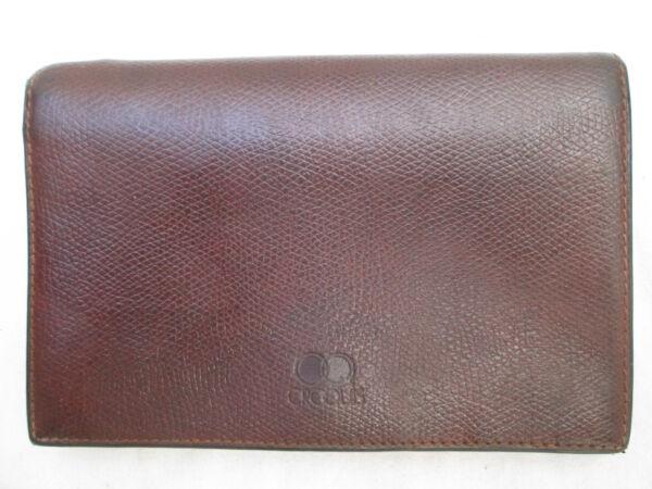 -authentique Portefeuille-porte-monnaie Croquis Cuir Tbeg Vintage Estremamente Efficiente Nel Preservare Il Calore
