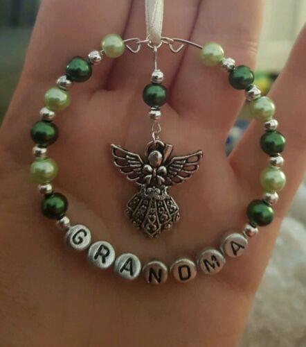 Noël cadeau Perles En mémoire de décoration fait main