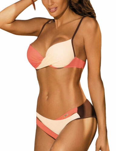 Marko Christina M-348 womens push up bra swimsuit bikini swimwear made in EU