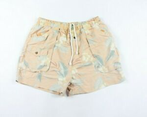 Tommy-Bahama-Relax-Mens-2XL-XXL-Floral-Print-Swimming-Swim-Trunks-Shorts-Pink