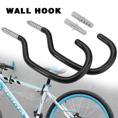 Bike Stand 2pcs Large Road Bicycle Storage Hooks Wall Holder Hot Hangers S9P0