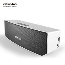 Bluedio BS-3 Bluetooth 4.1 Portable Speakers Wireless Stereo Soundbars MIC,White