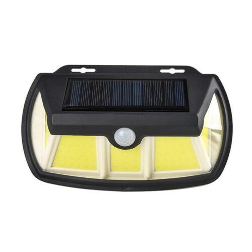65//110 LED Solarleuchte Solar Lampe mit Bewegungsmelder Gartenlicht Wandleuchte