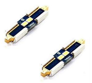 2x-lamparas-Festoon-xenon-36mm-con-2x3632-Samsung-SMD-chips-6000k-2w-canbus