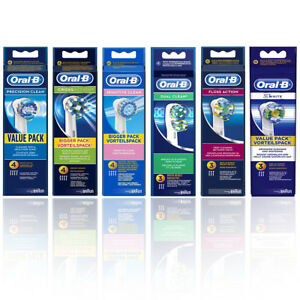Braun-Oral-B-Precision-Clean-Cross-Action-Sensitive-Dual-Floss-TOOTHBRUSH-HEADS