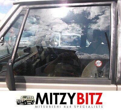 MITSUBISHI PAJERO SHOGUN MK1 NSF LEFT FRONT DOOR WINDOW DROP GLASS
