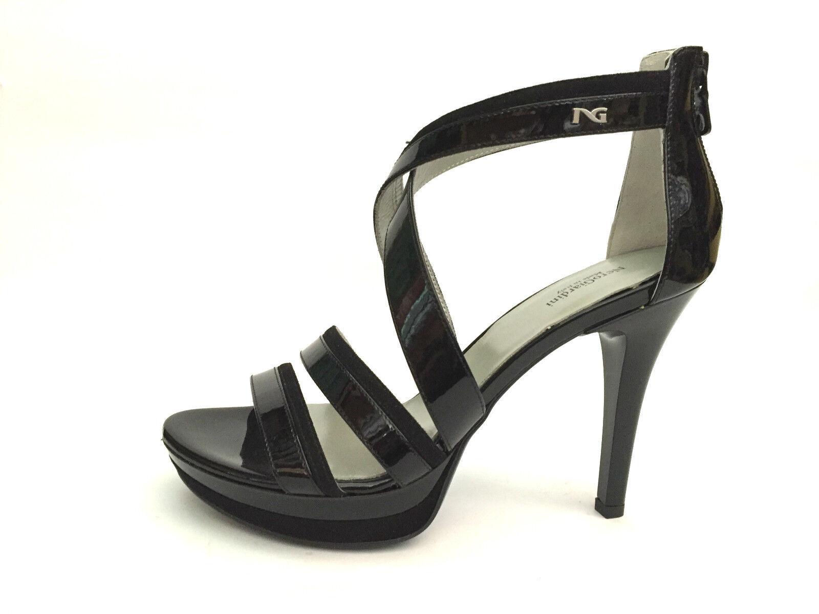 SCARPE P615750D DONNA DONNA DONNA NERO GIARDINI scarpe SANDALI TACCO P615750D   7d5099