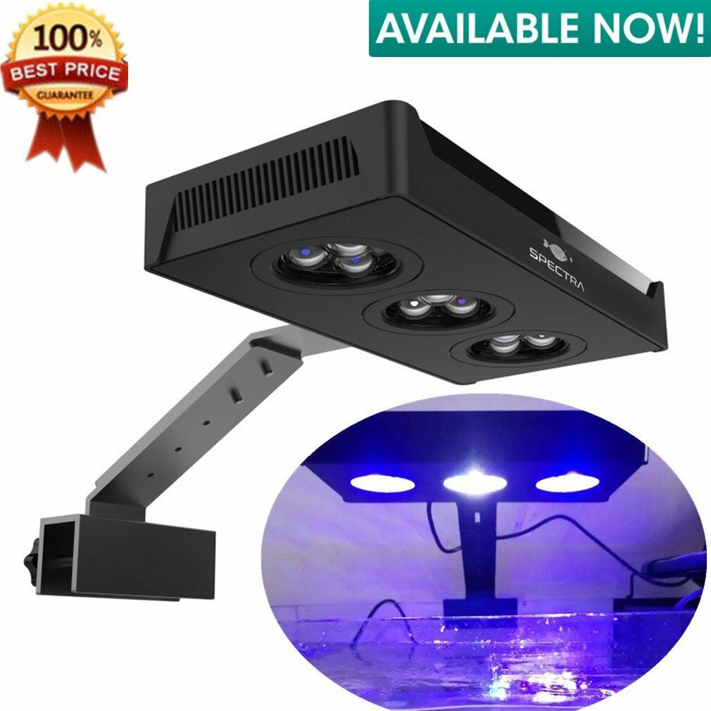 LED Aquarium Light Fish Tank Lighting with Touch Control for Coral Reef LH