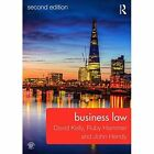 Business Law by John Hendy, David Kelly, Ruth Hayward, Ruby Hammer (Paperback, 2014)