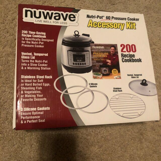 alpha-grp.co.jp 3 Silicone Gaskets & 200-Recipe Cookbook NuWave ...