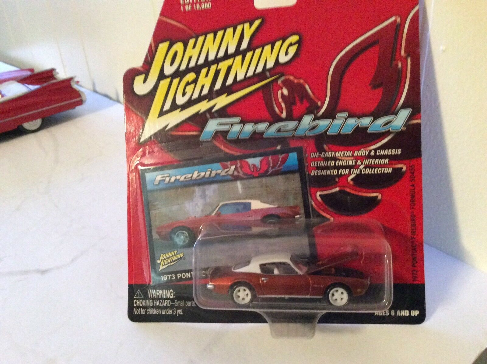 1973 pontiac firebird formula SD455 Johnny lightning white lightning 2004