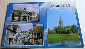 England Salisbury Multiview PWI01931 J Arthur Dixon  posted 1999 - Newent, United Kingdom - England Salisbury Multiview PWI01931 J Arthur Dixon  posted 1999 - Newent, United Kingdom