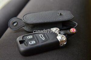 Leahter-Key-Case-for-ALFA-ROMEO-159-BRERA-GT-946-Spider-in-Black-Color