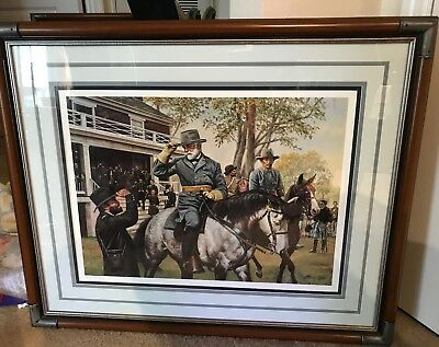 "/""Adjutant/'s Call/"" Don Stivers Artist Proof Giclee Print US Cavalry"