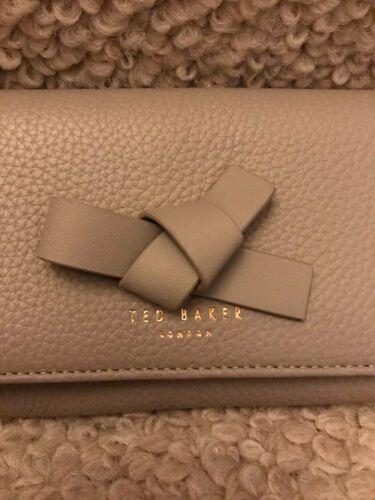 scatola Baker Ted Ashling Knot Matinee Mini Charcoal PursebnwtIn Leather XikPuOZ