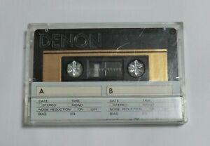 10 Denon HD6-90 Hi Bias Cassette Tapes Made in Japan