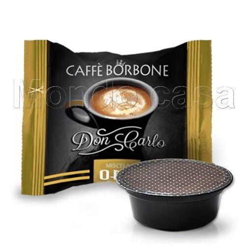 10 Cápsulas Caffè Borbone Don Carlo En por lo mio Mezcla Oro Original