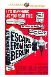 Escape-from-East-Berlin-New-DVD-Manufactured-On-Demand
