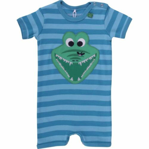 Fred/'s World  Bodysuit Anzug Beach Body Krokodil gestreift blau 68 74 80 92 98
