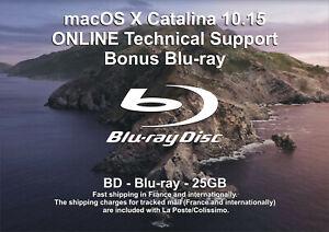 macOS X Catalina 10.15 - ONLINE Technical Support - Bonus Blu-ray