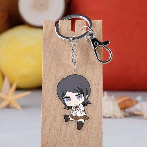 Danganronpa V3 Ikusaba Mukuro Cute Key Chain Pendants Key Rings Buckle Keychain