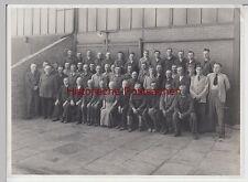 """(F9153+) Orig. Foto Braunschweig, Belegschaft der Firma """"Stecher & Tost"""" 1939"""