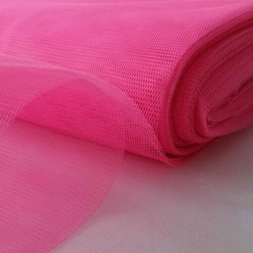 Vestido Tutú de tela de malla de Tul Hadas neto material de 150 cm de ancho GRATIS UK FRANQUEO.