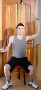 Image Is Loading Shoulder Pulley Stretch Ranger Over The Door Exercise