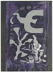 Georges-Braque-Lithographie-Bedruckt-in-1964