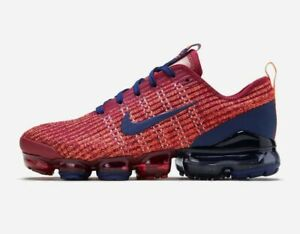 Nike-Air-VaporMax-Flyknit-3-GS-034-Noble-Red-034-Shoes-BQ5238-602-Size-4Y-Women-5-5