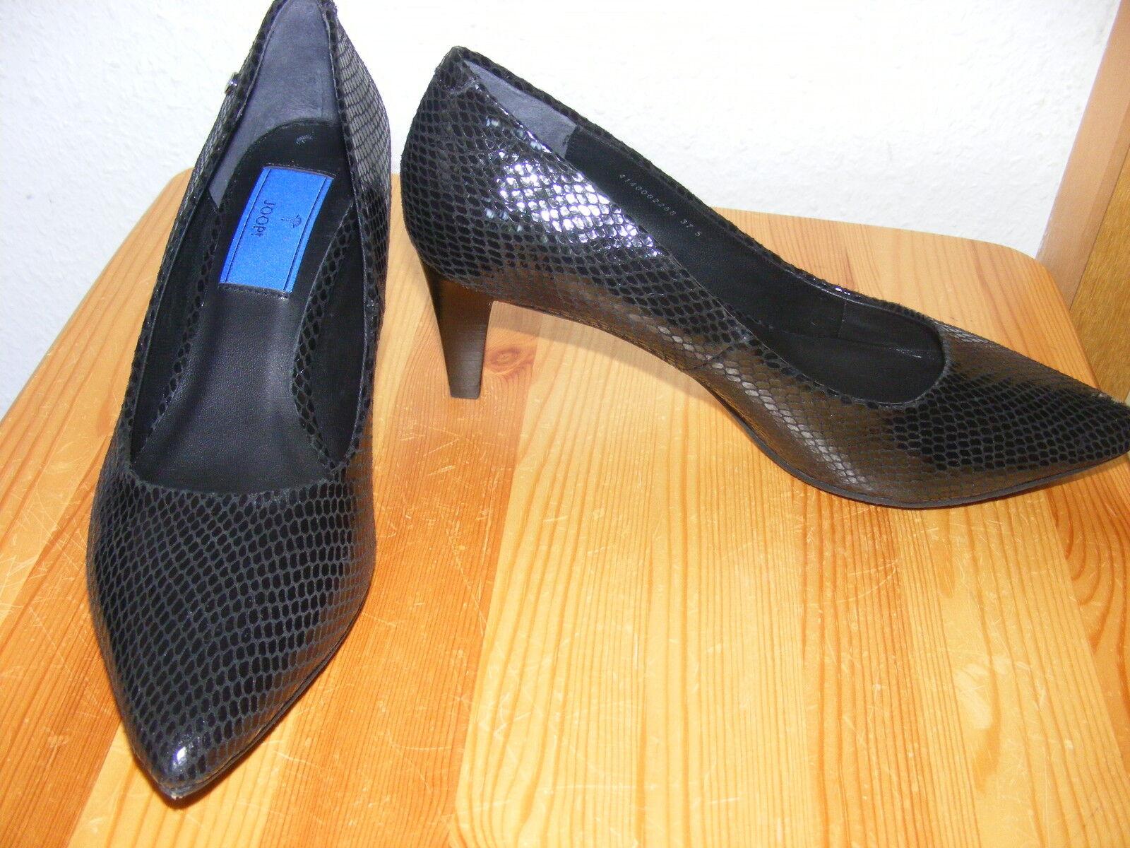 Joop negros de salón salón de noble nuevo negro el apartado 6 cm cuero clásica d96503