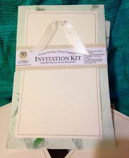 Gartner Studios Natural Handmade Paper Diy Wedding Invitation Kit