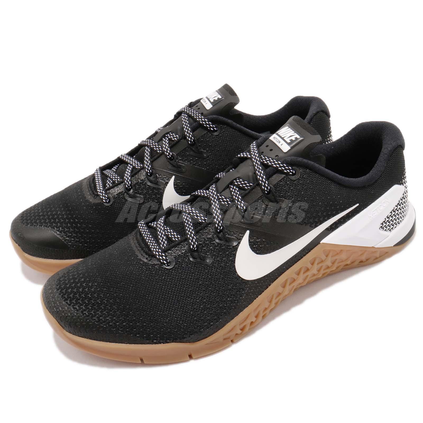 Nike Metcon 4 IV noir blanc Gum homme Cross Training chaussures Sneakers AH7453-006