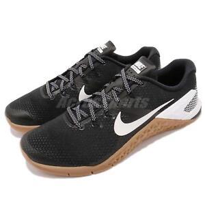 new style b2726 56617 Image is loading Nike-Metcon-4-IV-Black-White-Gum-Men-