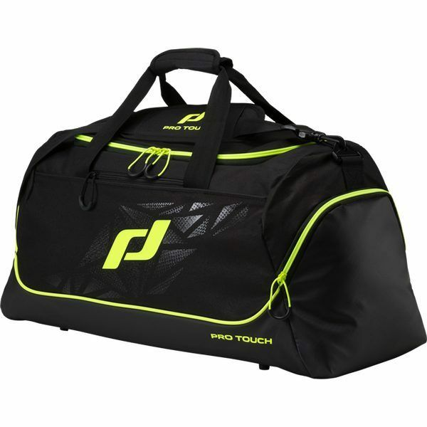 ProTouch Teambag Force, black yellow 274459-901, Gr. L