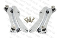 Hot Chrome 4 Point Docking Hardware Kits Detachable For 2014-2016 Harley Touring