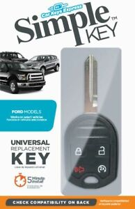 New-Uncut-Key-Remote-Start-Fob-Combo-Headkey-amp-DIY-Programmer-for-Ford-Lincoln