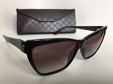 8536009ea5531 item 2 New GUCCI GG 3195 S D28N6 55mm Black Cats Eye Women s Sunglasses  Italy -New GUCCI GG 3195 S D28N6 55mm Black Cats Eye Women s Sunglasses  Italy