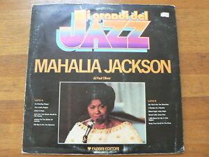 LP-RECORD-VINYL-MAHALIA-JACKSON-THE-WORLD-039-S-JI-GRANDI-DEL-JAZZ-FABBRI-EDITORI