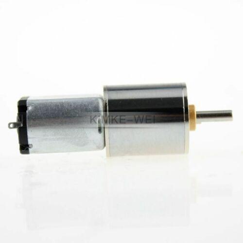 16mm Modellbau Getriebemotor 6V 20 U//min Gleichstrommotor