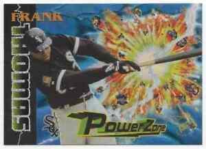 FRANK THOMAS - 1995 STADIUM CLUB POWER ZONE #PZ11 !