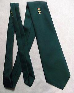 Livraison Rapide Vintage Cravate Homme Cravate Crested Club Association Société Crown-afficher Le Titre D'origine