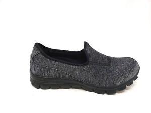 05dcf7fb3a3 New! Women s SKECHERS Slip-On Shoes 22188H Black Charcoal 182S sm
