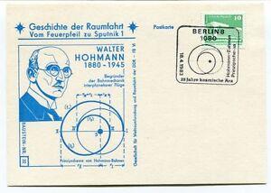 100% Vrai 1983 Geschichte Raumfahrt Vom Feuerpfeil Sputnik 1 Walter Hohmann Berlin Space Pour Aider à DigéRer Les Aliments Gras